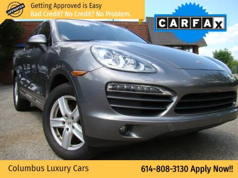 2011 Porsche Cayenne for sale at Columbus Luxury Cars in Columbus OH