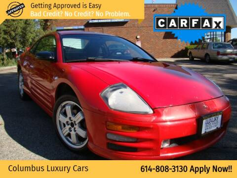 2001 Mitsubishi Eclipse for sale at Columbus Luxury Cars in Columbus OH
