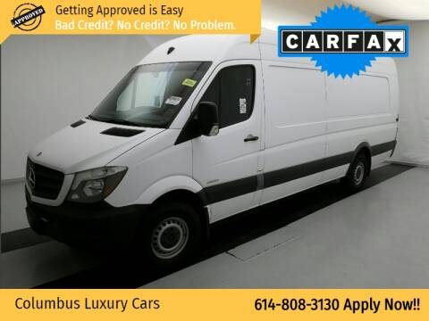 2015 Mercedes-Benz Sprinter Cargo for sale at Columbus Luxury Cars in Columbus OH