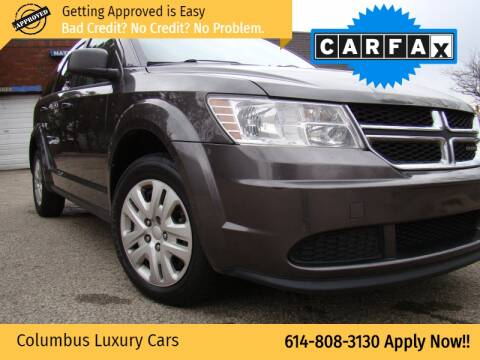 2016 Dodge Journey for sale at Columbus Luxury Cars in Columbus OH