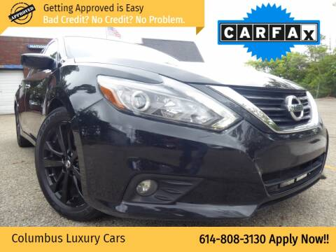 2017 Nissan Altima for sale at Columbus Luxury Cars in Columbus OH