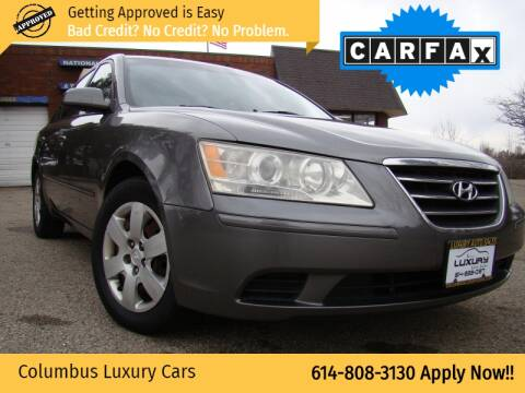 2009 Hyundai Sonata for sale at Columbus Luxury Cars in Columbus OH