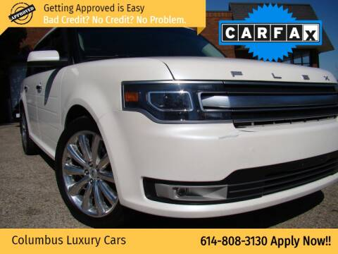2013 Ford Flex for sale at Columbus Luxury Cars in Columbus OH