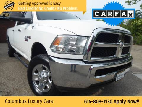 2015 RAM Ram Pickup 2500 for sale at Columbus Luxury Cars in Columbus OH