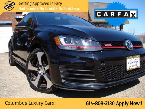 2015 Volkswagen Golf GTI for sale at Columbus Luxury Cars in Columbus OH