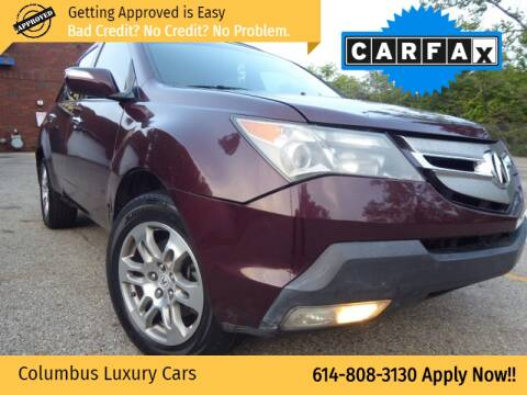 2009 Acura MDX for sale at Columbus Luxury Cars in Columbus OH