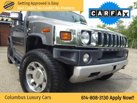 2008 HUMMER H2 for sale at Columbus Luxury Cars in Columbus OH