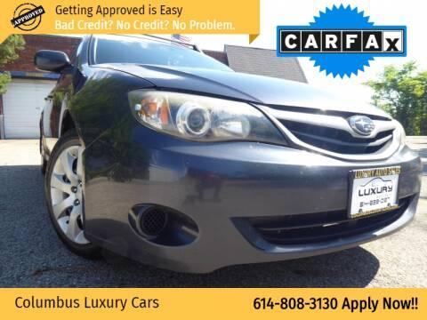 2010 Subaru Impreza for sale at Columbus Luxury Cars in Columbus OH