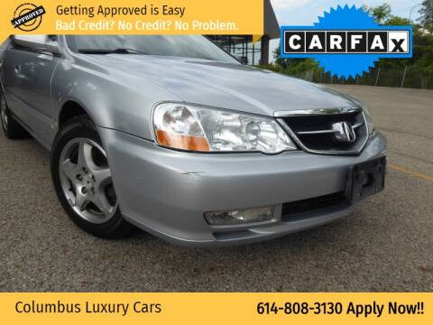 2002 Acura TL for sale at Columbus Luxury Cars in Columbus OH