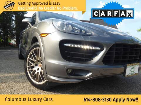 2014 Porsche Cayenne for sale at Columbus Luxury Cars in Columbus OH