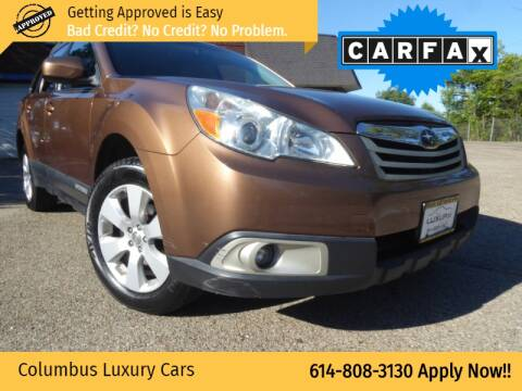 2011 Subaru Outback for sale at Columbus Luxury Cars in Columbus OH