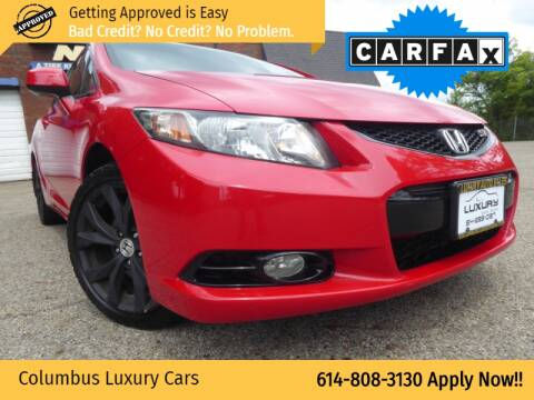 2013 Honda Civic for sale at Columbus Luxury Cars in Columbus OH