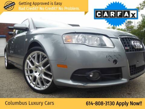 2008 Audi A4 for sale at Columbus Luxury Cars in Columbus OH