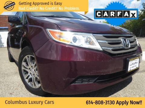 2012 Honda Odyssey for sale at Columbus Luxury Cars in Columbus OH