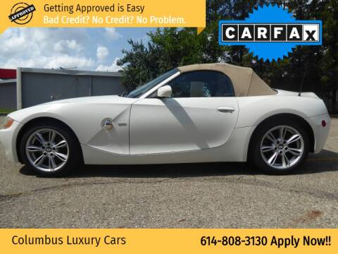 2004 BMW Z4 for sale at Columbus Luxury Cars in Columbus OH