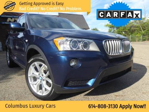 2013 BMW X3 for sale at Columbus Luxury Cars in Columbus OH