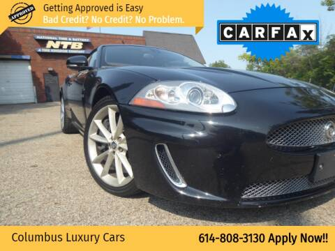 2011 Jaguar XK for sale at Columbus Luxury Cars in Columbus OH