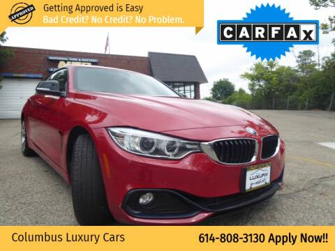 2015 BMW 4 Series for sale at Columbus Luxury Cars in Columbus OH