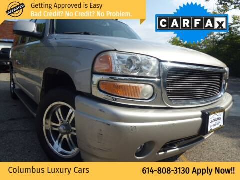 2006 GMC Yukon XL for sale at Columbus Luxury Cars in Columbus OH