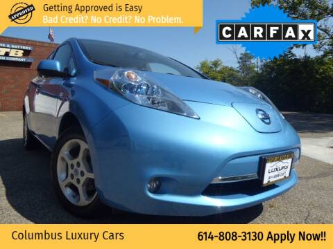 2012 Nissan LEAF for sale at Columbus Luxury Cars in Columbus OH