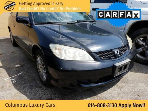 2005 Honda Civic for sale at Columbus Luxury Cars in Columbus OH