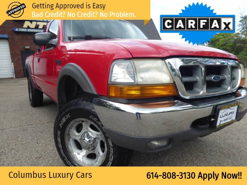 2000 Ford Ranger for sale at Columbus Luxury Cars in Columbus OH