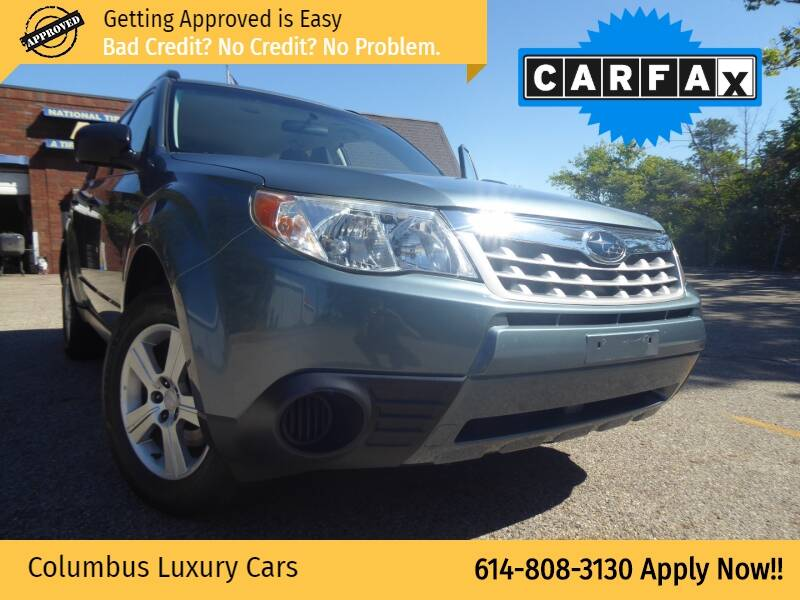 2011 Subaru Forester for sale at Columbus Luxury Cars in Columbus OH