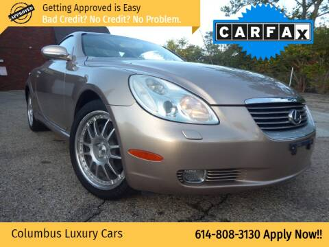 2002 Lexus SC 430 for sale at Columbus Luxury Cars in Columbus OH