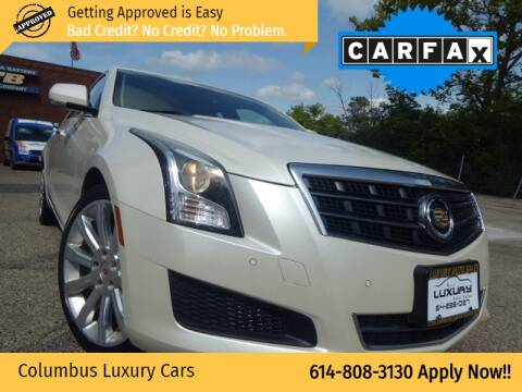 2013 Cadillac ATS for sale at Columbus Luxury Cars in Columbus OH