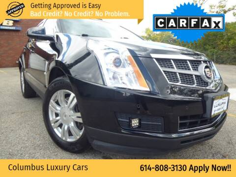 2011 Cadillac SRX for sale at Columbus Luxury Cars in Columbus OH