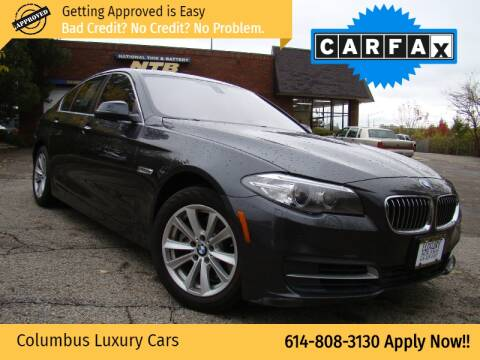 2014 BMW 5 Series for sale at Columbus Luxury Cars in Columbus OH
