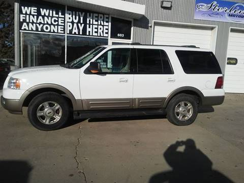 2003 Ford Expedition for sale at STERLING MOTORS in Watertown SD