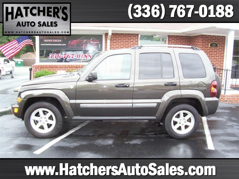 2006 jeep liberty limited 4dr suv 4wd w front side curtain airbags in winston salem nc. Black Bedroom Furniture Sets. Home Design Ideas