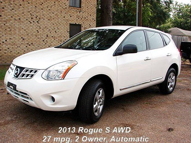 2013 Nissan Rogue AWD S 4dr Crossover   Quitman TX