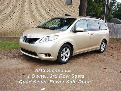 2013 Toyota Sienna for sale in Quitman, TX
