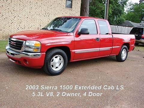 2003 GMC Sierra 1500 for sale in Quitman, TX