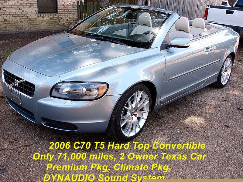 2006 Volvo C70 T5 2dr Convertible In Quitman Tx Jazzy Jalopies Llc