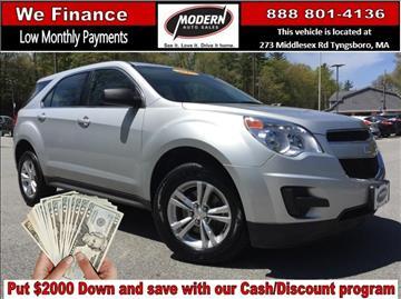 2015 Chevrolet Equinox for sale in Tyngsboro, MA