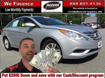2013 Hyundai Sonata for sale in Tyngsboro, MA