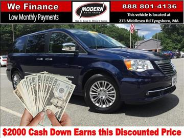 2015 Chrysler Town and Country for sale in Tyngsboro, MA