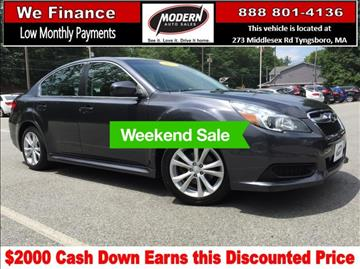 2013 Subaru Legacy for sale in Tyngsboro, MA