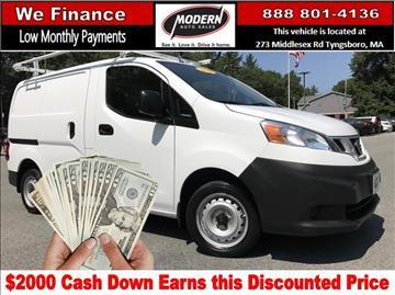 2015 Nissan NV200 for sale in Tyngsboro, MA