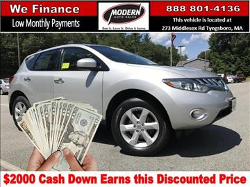 2010 Nissan Murano for sale in Tyngsboro, MA