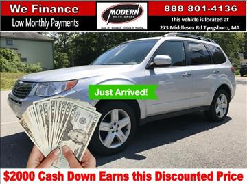 2010 Subaru Forester for sale in Tyngsboro, MA