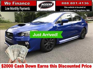 2015 Subaru WRX for sale in Tyngsboro, MA