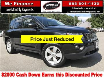 2014 Jeep Compass for sale in Tyngsboro, MA