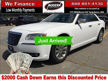 2011 Chrysler 300 for sale in Tyngsboro, MA
