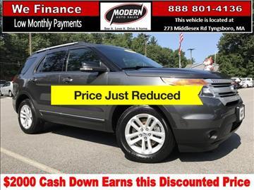 2015 Ford Explorer for sale in Tyngsboro, MA
