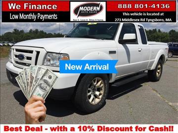 2011 Ford Ranger for sale in Tyngsboro, MA