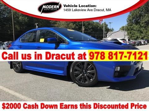 2016 Subaru WRX for sale in Tyngsboro, MA
